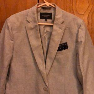 Banana republic blazer. Tailored fit. White.